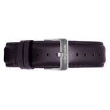 Weird Ape women's Aubergine Leather 16mm Strap