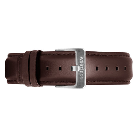 Weird Ape Weird Ape women's Brown Leather 16mm Strap