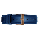 Weird Ape women's Indigo Blue Leather 16mm Strap