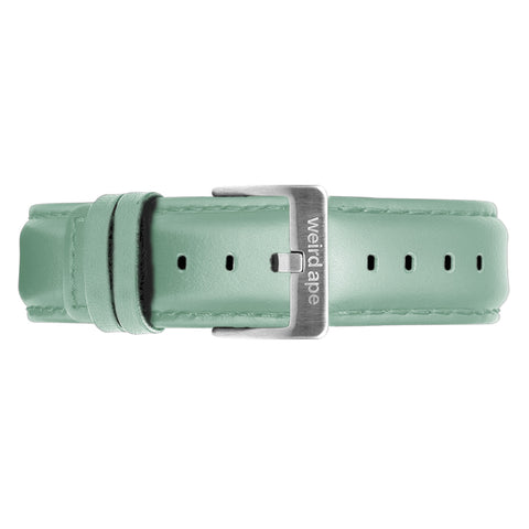 Weird Ape Weird Ape women's Mint Green Leather 16mm Strap