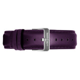 Purple Leather 16mm Strap