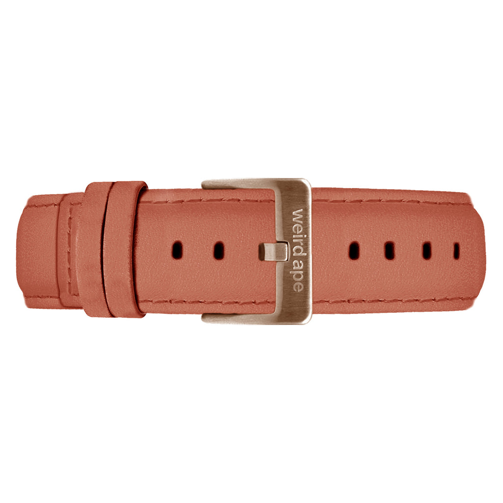 Weird Ape women's Rose Pink Suede 16mm Strap