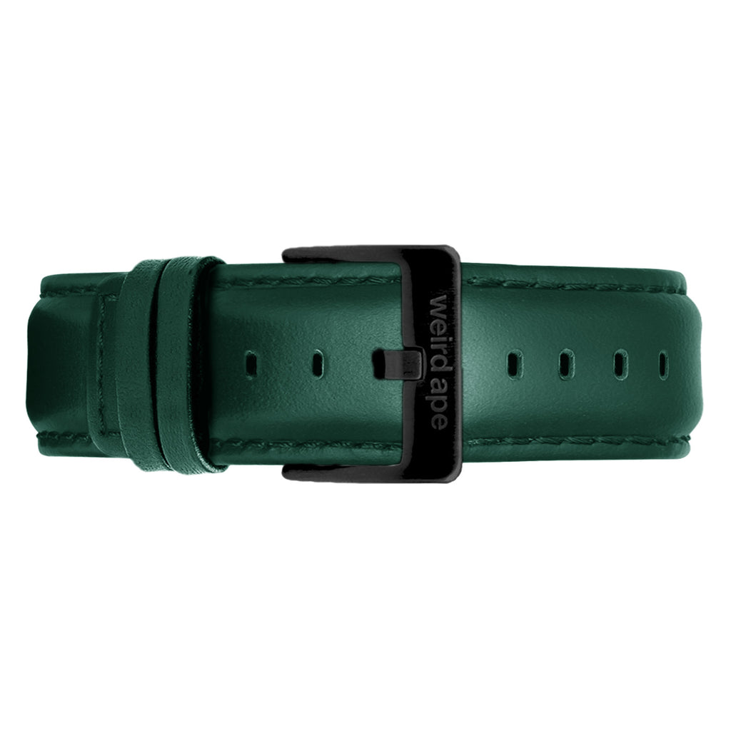 Dark Teal Leather 20mm Strap
