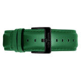 Weird Ape men's Emerald Leather 20mm Strap