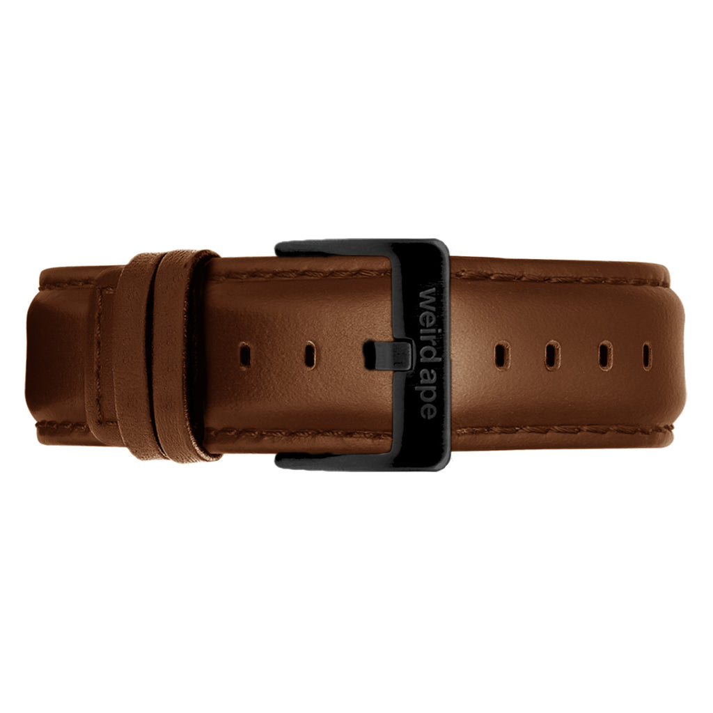Weird Ape men's Oak Leather 20mm Strap