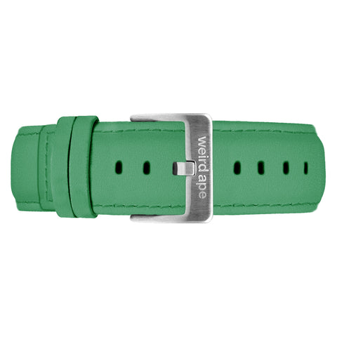 Weird Ape Weird Ape men's Sea Green Suede 20mm Strap