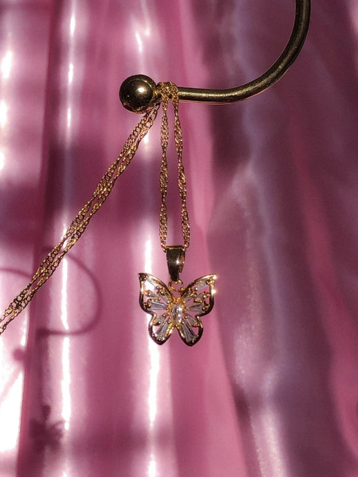 Enchanted Butterfly Necklace - ShopStarCrew