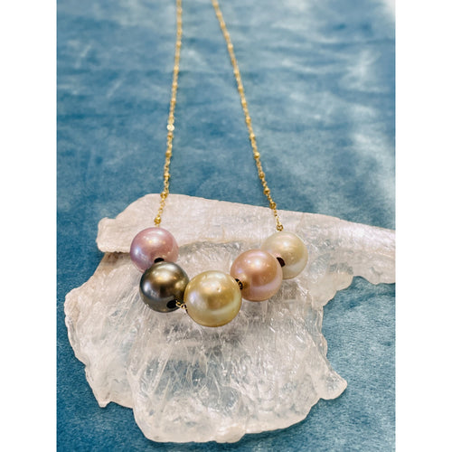 Floating Moonbow Necklace Chain
