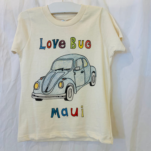 Love Bug Tee Cream