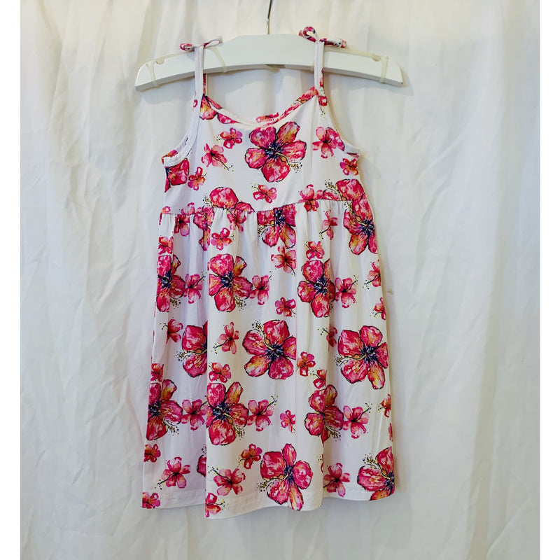 Hibiscus Tie Dress