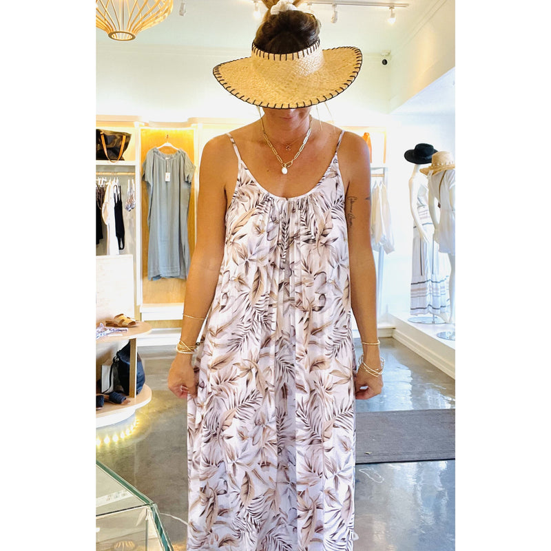 Biarritz Dress Tahitian Blossom