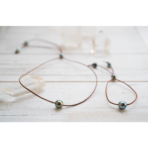 Tahitian Pearl Kim Necklace