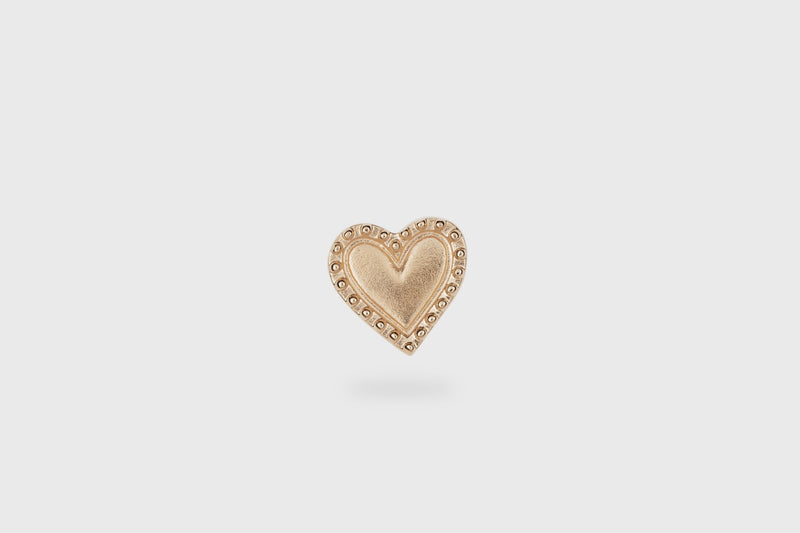 IX Heart Pendant Gold
