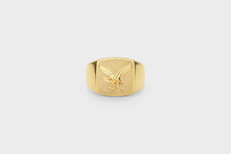 IX Eagle Signet Ring