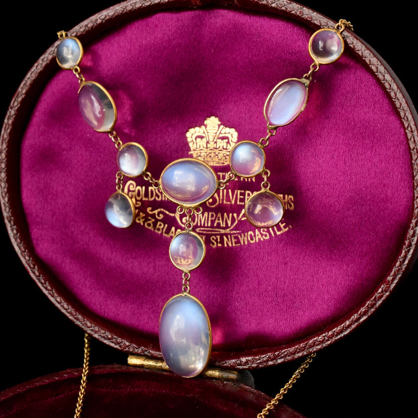 Moonstone; History, Popularity & That Schiller!