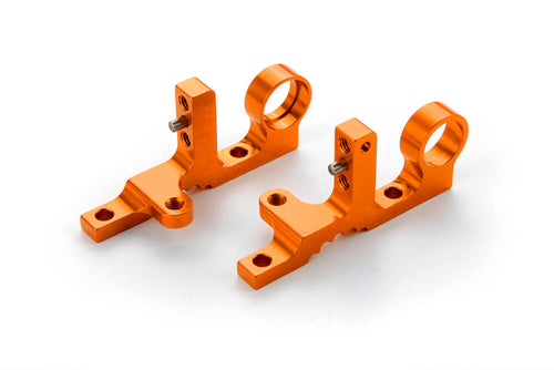 Xray 302038-O T4F Alu Front Upper Clamp (L+R) - Orange
