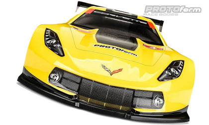 PROTOform Chevrolet Corvette C7.R Clear Body for 190m TC 1557-30