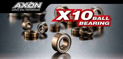 AXON X10 Ball Bearing Set for YOKOMO BD8 2018 (16pcs)