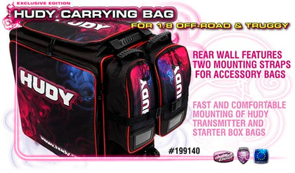 HUDY 1/8 OFF-ROAD & TRUGGY CARRYING BAG + TOOL BAG - EXCLUSIVE EDITION