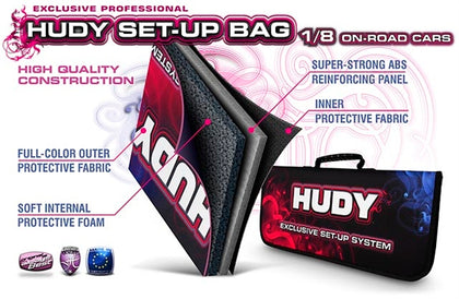 HUDY SET-UP BAG FOR 1/8 ON-ROAD CARS - EXCLUSIVE EDITION