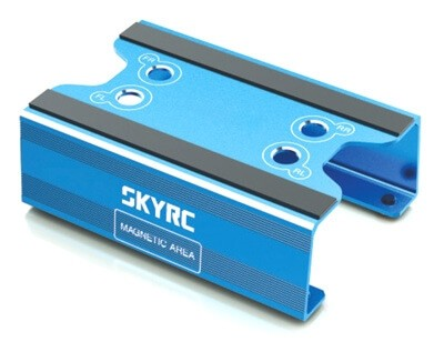 SkyRC SK6069-11 - Maintenance Stand for 1/10 & 1/8 Off Road (Blue)