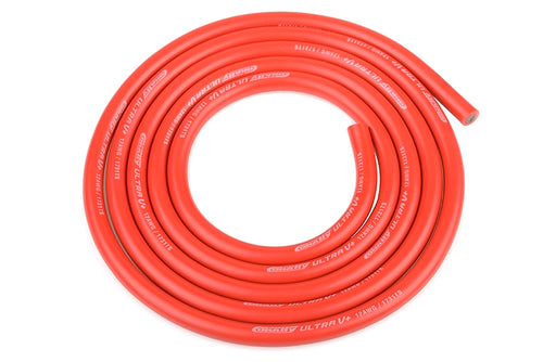 Team Corally - Ultra V+ Silicone Wire - Super Flexible - Red - 12AWG - 1731 / 0.05 Strands - ODø 4.5mm - 1m