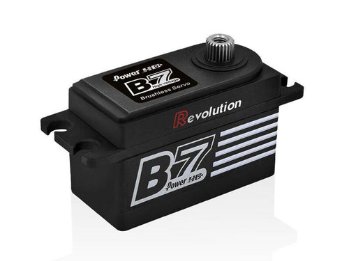 Power HD B7 Revolution Low Profile (0.055s/13.0kg/7.4V) Brushless Servo