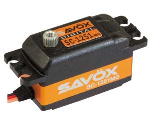 Savöx SC-1251MG Low Profile (0.09s/9.0kg/6.0V) Coreless Servo