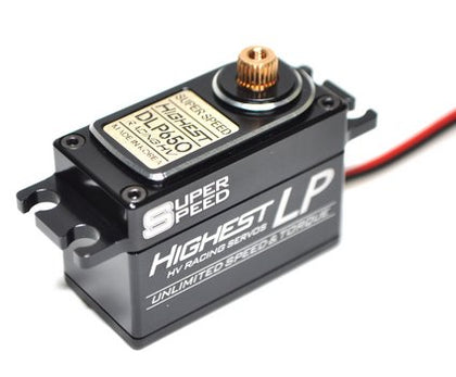 Highest DLP650 Low Profile (0.06s/8.3kg/7.4V) Coreless Servo