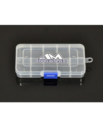 Arrowmax 10-Compartment Parts Box (132x68x22mm)