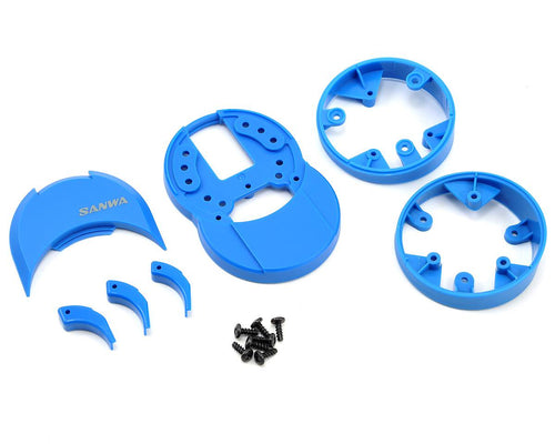 Sanwa M12/M12S Plastic Drop Down (Blue)