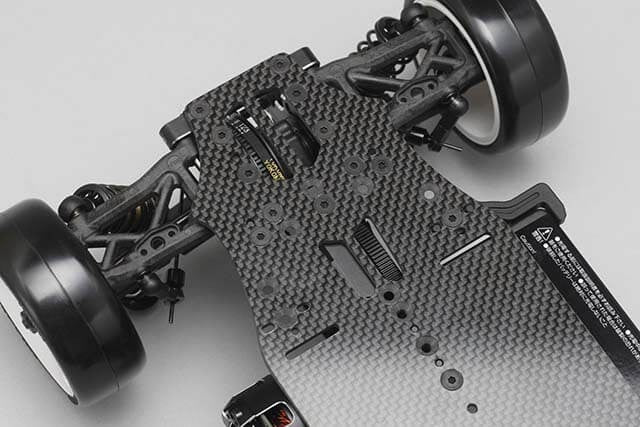 Yokomo Bd8-2018 Graphite Chassis Tc Kit Incl. Original Alu Steering