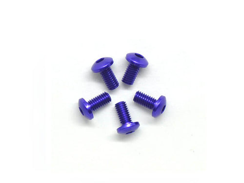Arrowmax Alu Screw Allen Roundhead M3X6 Purple (7075) (5)