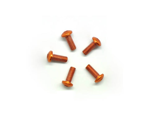 Arrowmax Alu Screw Allen Roundhead M3X8 Orange (7075) (5)