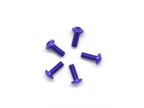 Arrowmax Alu Screw Allen Roundhead M3X8 Purple (7075) (5)