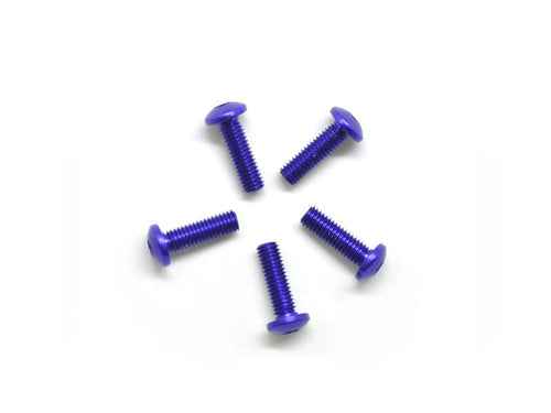 Arrowmax Alu Screw Allen Roundhead M3X10 Purple (7075) (5)