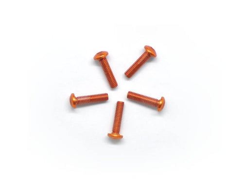 Arrowmax Alu Screw Allen Roundhead M3X12 Orange (7075) (5)