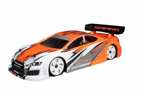 Dragon-RC Body 1/10 Lex-is EFRA 4030 190mm painted white-orange 213003