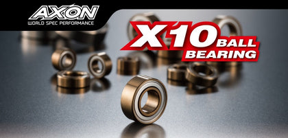 AXON X10 Ball Bearing 1050 (10x5x4) 2pcs