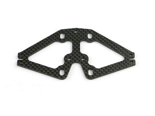 Serpent Front suspension plate carbon F110 SF3 411382