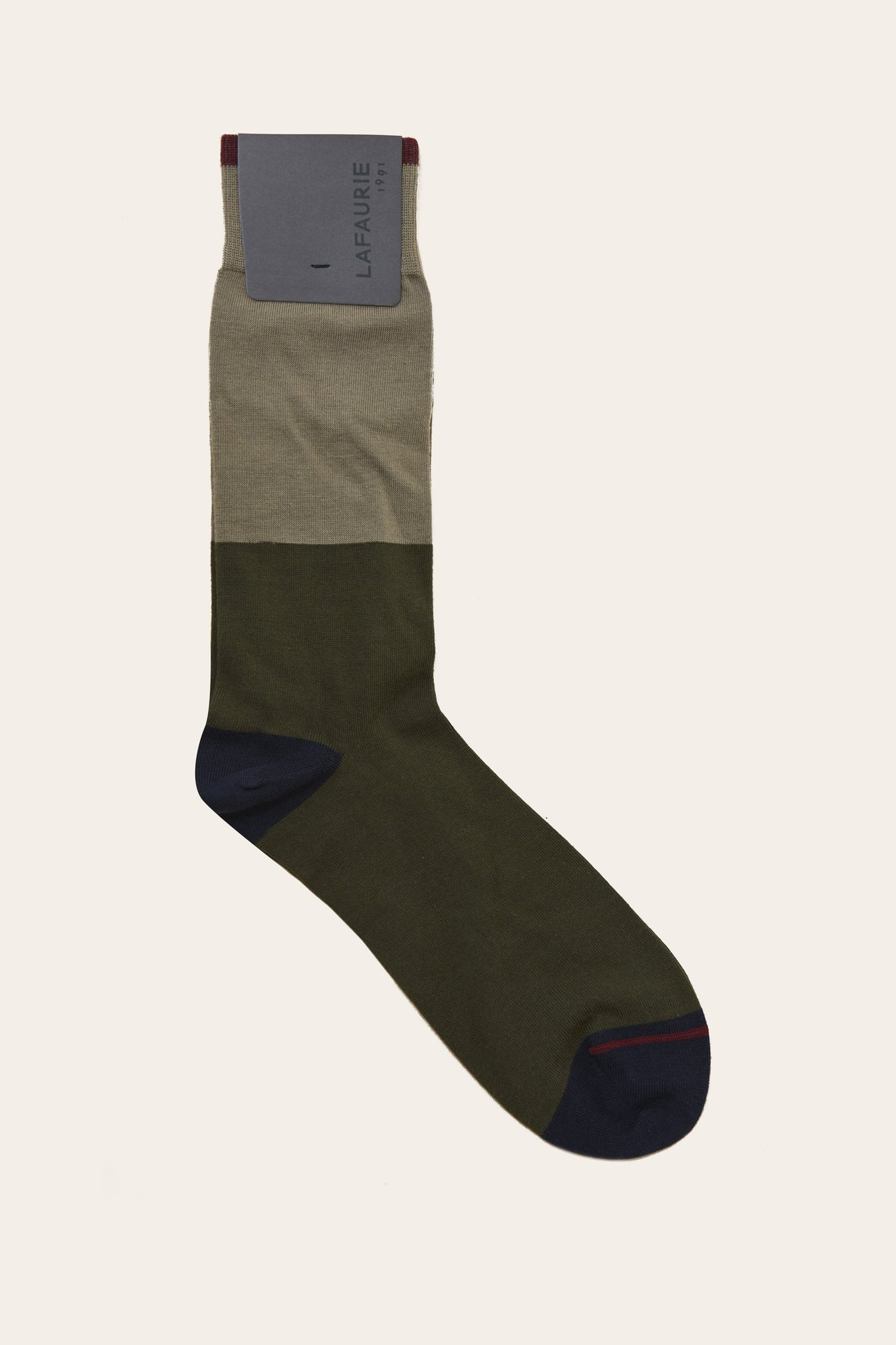 Chaussettes Samson - Taupe - LAFAURIE