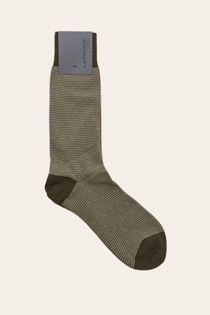 Chaussettes Spencer - Taupe - LAFAURIE