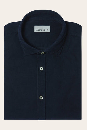 Chemise Titus - Navy - LAFAURIE