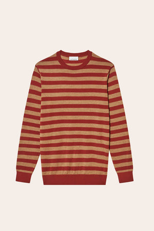 Pull Stripes - Terracotta - LAFAURIE