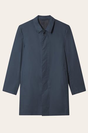 Mackintosh Snap - Navy - LAFAURIE