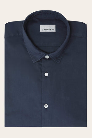 Chemise Solal - Navy - LAFAURIE