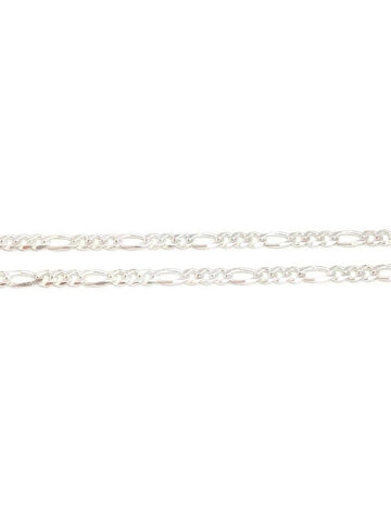 Silver Figaro chain 28inches 19.70g