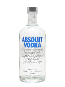 Absolut Vodka (700ml) - Edinburgh Booze Delivery