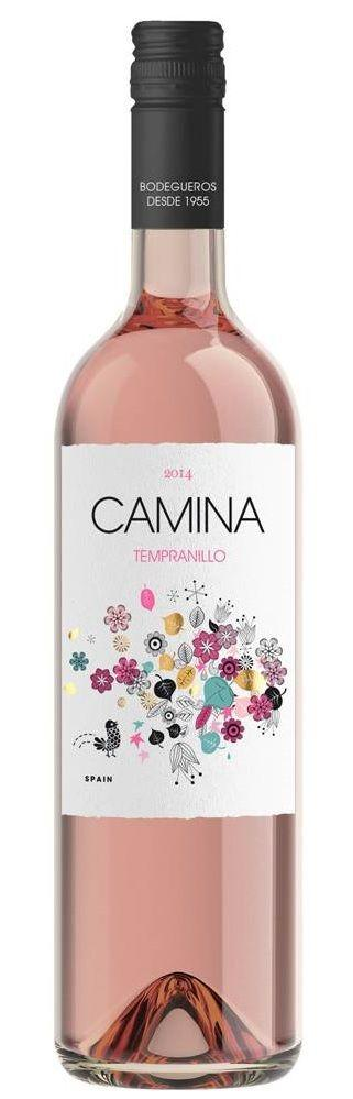 Camina Tempranillo Rosada 2019 (750ml) - Edinburgh Booze Delivery