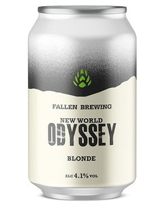 Fallen Brewing - New World Odyssey Blonde (330ml) - Edinburgh Booze Delivery